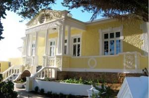 Seaside villas in the Western Cape
