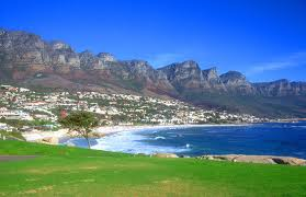 The famous Camps Bay Beach