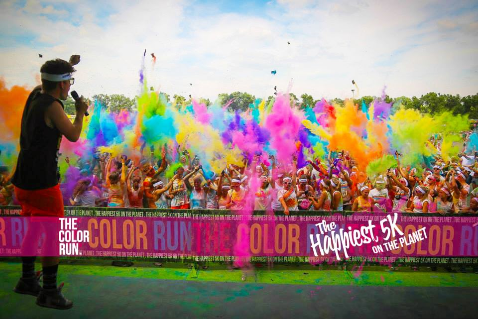 color run happy